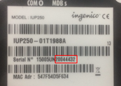 Setting up the Ingenico iSelf for Serial or VCOM/USB – NMI