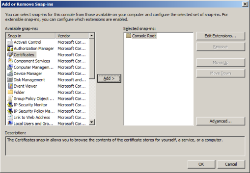 How to Check if the Correct Certificates Are Installed on